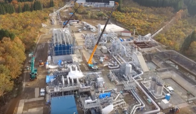 Video: Introduction to the 5 MW Takigami binary geothermal power plant, Japan