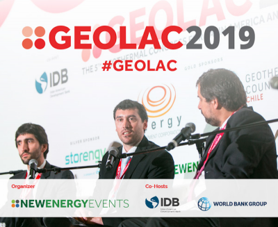 6th Geothermal Congress for Latin America & Caribbean – 17-18 July 2019, Chile