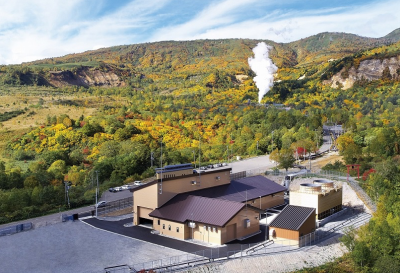 New 7.4 MW geothermal plant started operations in Iwate, Japan
