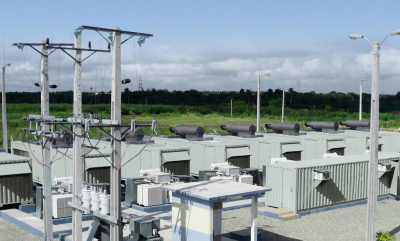 Modular geothermal power units being installed in Kirchweidach, Germany