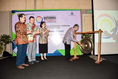 EBTKE/ INAGA partner on Indonesia Intl Geothermal Convention, August 2019