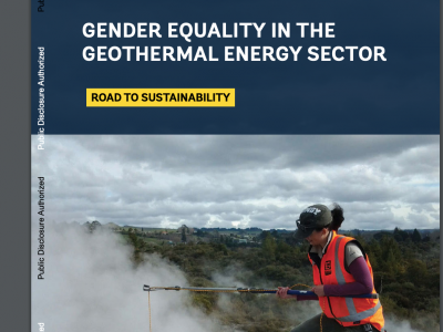 World Bank releases report on Gender Equality in the Geothermal Sector