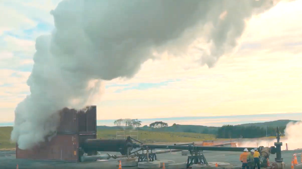 Video - Building a geothermal power plant in New Zealand