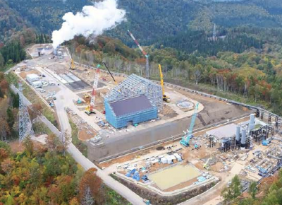 46 MW Wasabizawa geothermal plant starts operation in Japan
