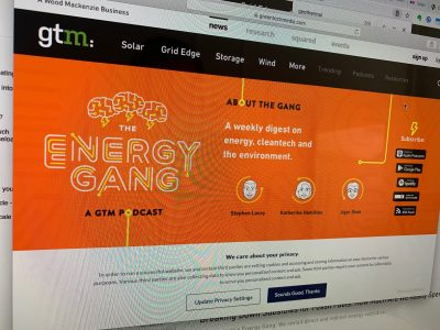 "Energy Gang, GTM Podcast – Will geothermal ever boom like ""fracking""?"