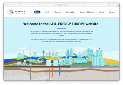 Geo-Energy Europe metacluster launches new website