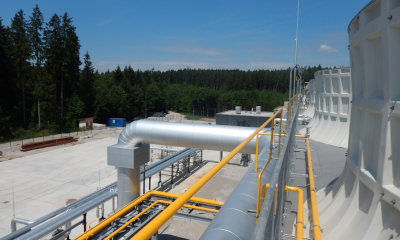 Test production started at geothermal power plant at Holzkirchen, Germany