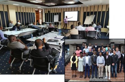 NZ team successfully delivers 2-week geothermal concept model training in Kenya
