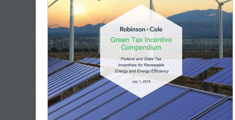 Overview on green tax incentives - incl  geothermal - in the