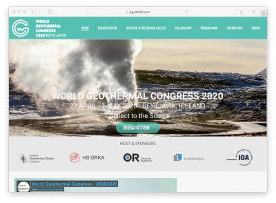 Registration opened for World Geothermal Congress 2020, Iceland