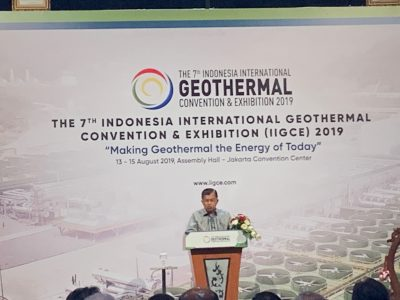 Indonesian Vice President points to slow growth of geothermal in Indonesia