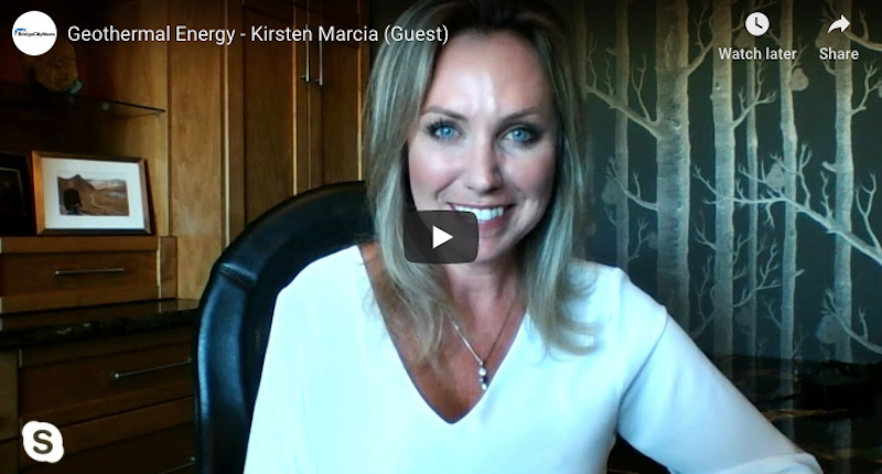 Interview with Kirsten Marcia, CEO of DEEP - developer of geothermal