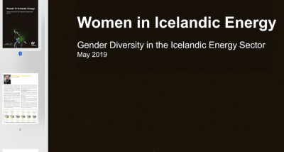 Report on the position of women in Iceland's energy sector highlights continued work needed