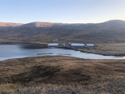 Geothermal heat key element of new aquaculture facilities in the West Fjords of Iceland