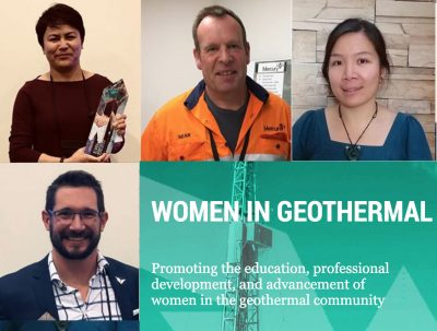 Women in Geothermal WING Open Award 2019 – Sean Keaney