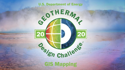 2020 Geothermal Design Challenge, DOE & INL – registration opening 6 January 2020