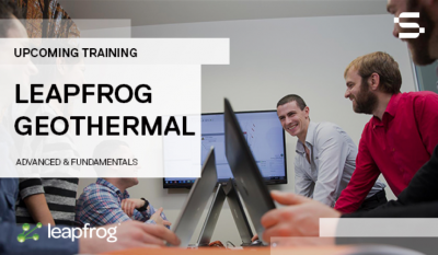 Leapfrog Geothermal Advanced Course, in conjunction with WGC 2020, April 24-25, 2020