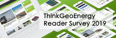 Your input needed – ThinkGeoEnergy Reader Survey 2019