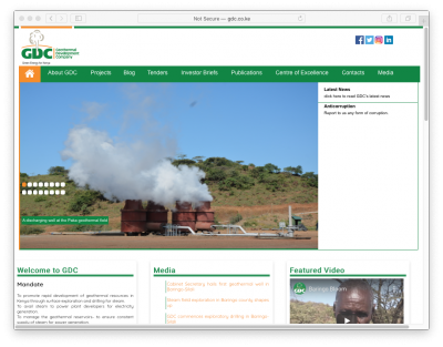 Job: Managing Director – Geothermal Development Company, Kenya