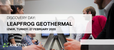 Leapfrog Geothermal Discovery Day by Seequent, Izmir/ Turkey – 27 Feb. 2020