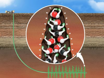 Researchers at PNNL develop more efficient fracturing fluid for geothermal