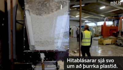 A different kind of direct use of geothermal – plastic recycling in Iceland