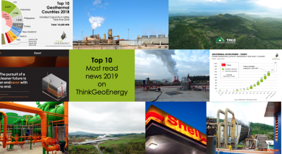 The top 10 most read geothermal news of 2019 on ThinkGeoEnergy