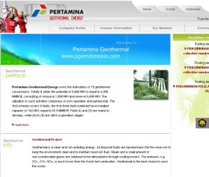 Pertamina to invest US$234m on geothermal development next year