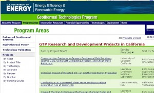 DOE: Enhanced Geothermal Roadmap Workshops, July 2011