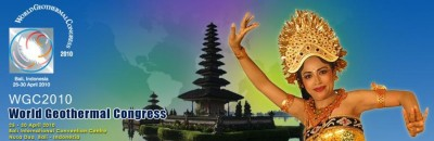 World Geothermal Congress in Bali, will you attend?