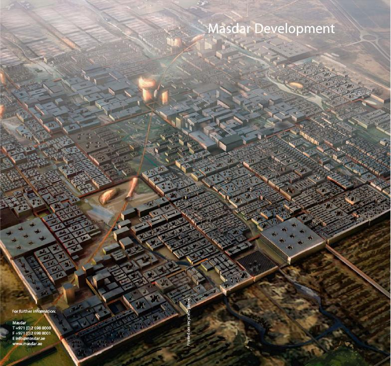 Drilling of geothermal wells started at Masdar City