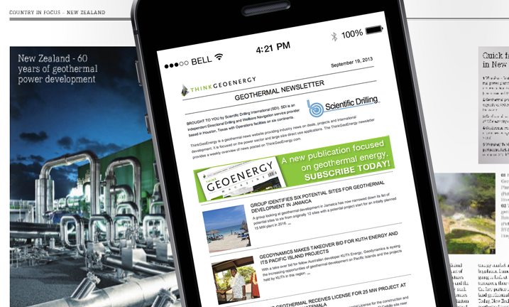 Our Weekly Newsletter – bringing you a global overview of geothermal news