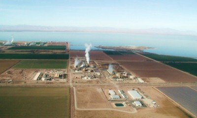 CalEnergy signs 50 MW geothermal long term PPA with Arizona utility