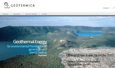 Oil and gas newcomer in geothermal exploration and production