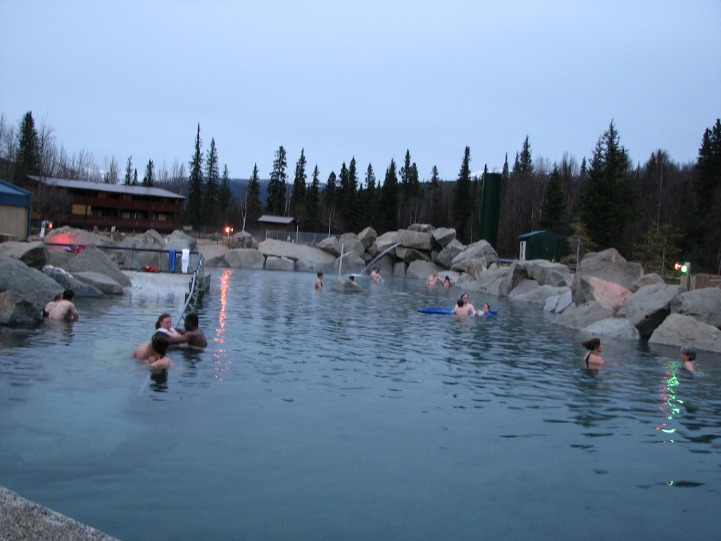 U.S. Energy Secretary visits Chena Hot Springs, Alaska