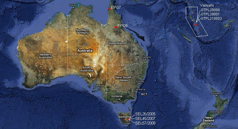 KUTh Energy closer to location of drilling targets in Tasmania