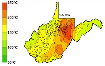 SMU suggests geothermal potential of up to 18,900MW in West Virginia