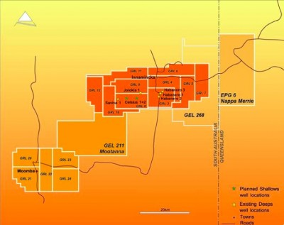 Geodynamics completes acquisition of additional license in Cooper Basin