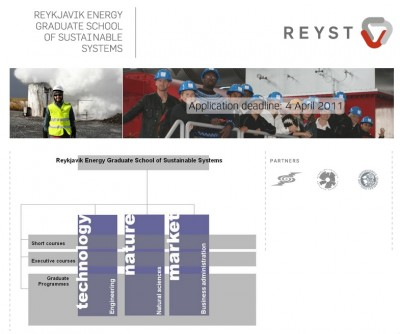 Sustainable Energy program at REYST, experience from a graduate