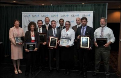 Winners of GEA Honors Awards: TAS Energy, Ormat Technologies and EnergySource