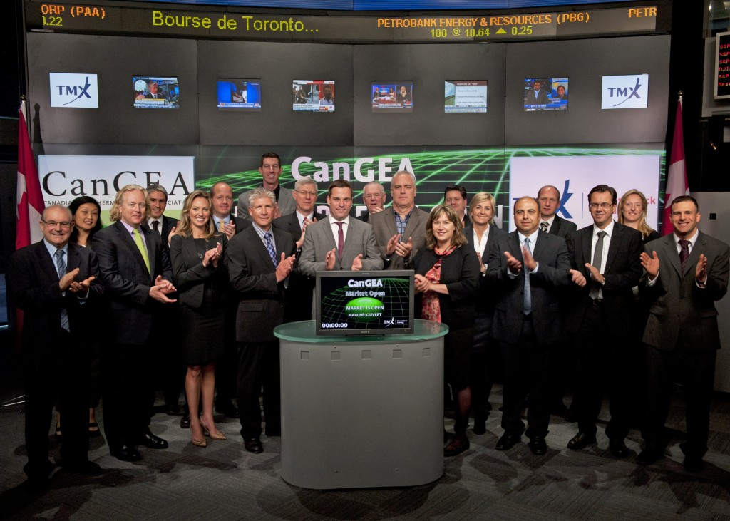 CanGEA's Annual Conference and TSX Opening September 14, 2011