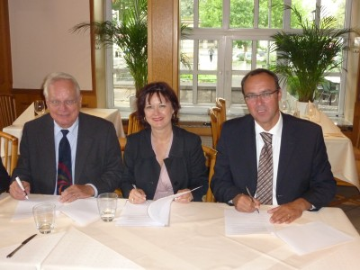 German geothermal associations sign cooperation agreement