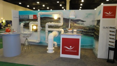 Islandsbanki wins audience Best-in-Show award at GEA Geothermal Expo 2011