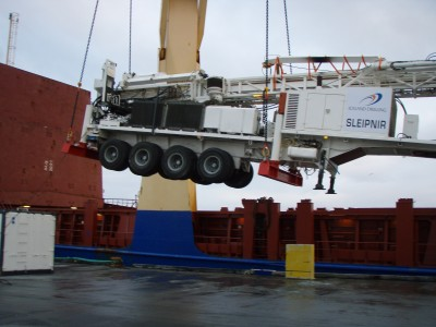 ISOR and Iceland Drilling shipping equipment to project in Dominica