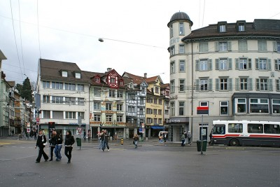 Geothermal still with public support in St. Gallen Switzerland