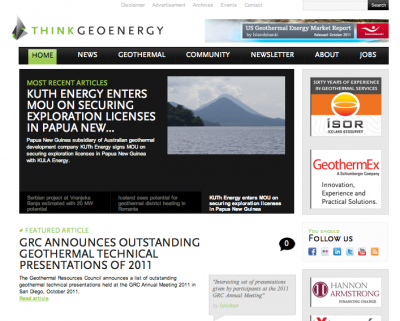 ThinkGeoEnergy top 10 read geothermal news of 2011