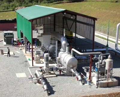 Geothermal Development Associates commissions Kenya wellhead plant