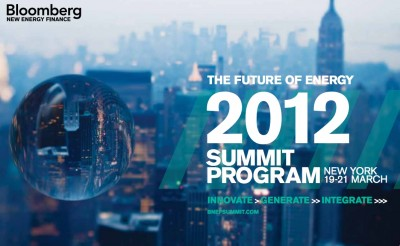 Geothermal covered at this year's Bloomberg New Energy Finance Summit