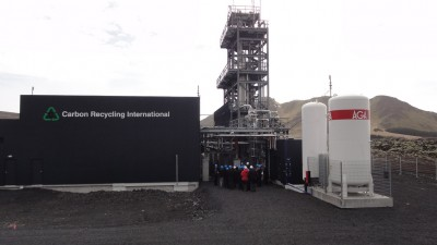 Opening of CO2 to Methanol plant at Svartsengi geothermal plant
