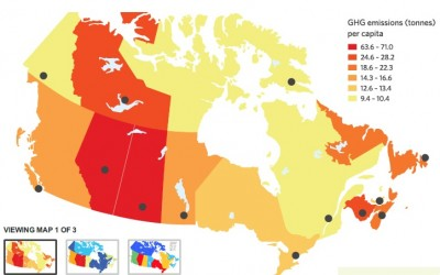 Report Canadian climate change plans all over the map